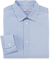 Izod Circle-Print Dress Shirt - Boys 8-20