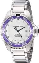 Momentum Women's Quartz Stainless Steel Diving Watch, Color:Silver-Toned (Model: 1M-DN11LP0)