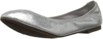 DREAM PAIRS Women's Latte Ballet Flat