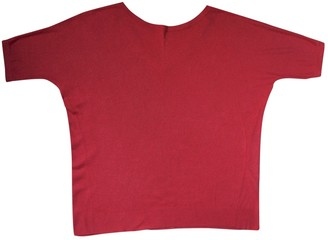 Max Mara Weekend Red Linen Top for Women