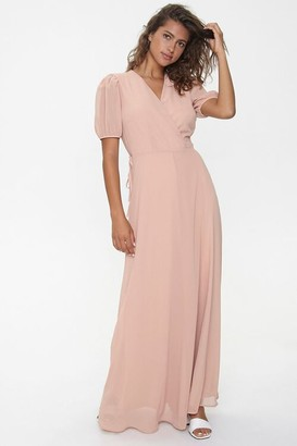 Forever 21 Maxi Wrap Dress