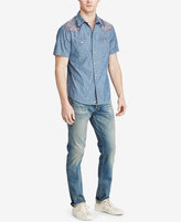 Denim & Supply Ralph Lauren Men's Slim Chambray Western Shirt