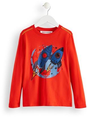 Amazon Brand - RED WAGON Boy's Rocket Top