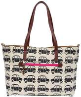 Pink Lining Notting Hill Black Cabs Tote Bag