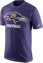 Nike Men's Baltimore Ravens Facility T-Shirt