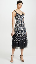 Needle & Thread Wildflower Sequin Midi Dress