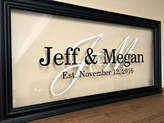 Etsy Personalized Couple Christmas Gift, Gifts for Couple, Bridal Shower Gift, Personalized Wedding Gift,