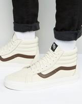 Vans Sk8-Hi Reissue Sneakers In Beige Va2xsblyt