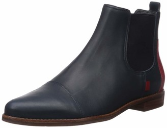 Marc Joseph New York Women's Genuine Leather Made in Brazil Pointed Toe Ankle Boot