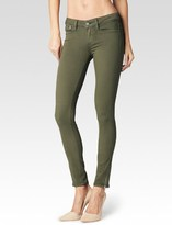 Paige Shay Zip Ankle - Olive Leaf