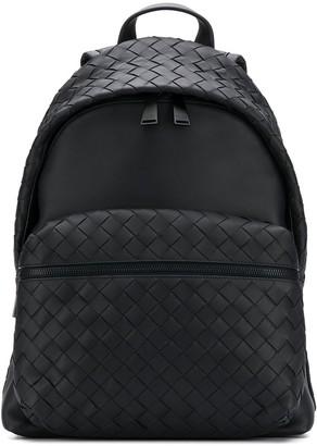 Bottega Veneta Intrecciato Weave Detailing Backpack