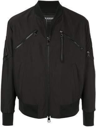 Neil Barrett slim multi-pocket bomber jacket