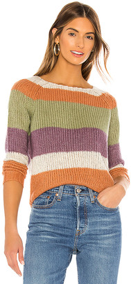 NSF Daja Raglan Striped Sweater