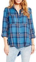 Jessica Simpson Dion Plaid Shirt