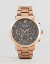 Sekonda Chronograph Bracelet Watch With Black Dial Exclusive To Asos