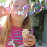 Little Ella James Ice Cream Cone Bubble Blower For Party Bags