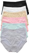 Angelina Teal & Pink High-Waist Zipper Pocket Girdle Set - Plus