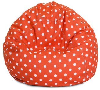 Majestic Home Goods Ikat dot Large Classic Bean Bag Chair, Multiple Colors