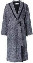 EN ROUTE tweed single breasted coat