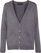 Cushnie et Ochs Pleated cashmere-blend cardigan