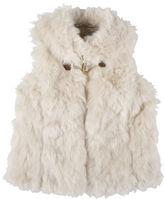 Andy & Evan Girls 2-6x Faux Fur Vest