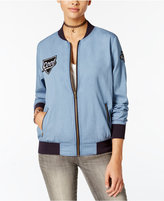 Say What ? Juniors' Patch Bomber Jacket