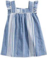 Epic Threads Toddler Girls Striped Peasant Dress, Created for Macy's
