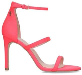 Kurt Geiger London Womens Ladies Pink Leather Shoes - Pink