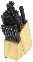 Oneida 16-pc. Triple Rivet Knife Block Set