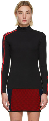 adidas Black Adicolor Trefoil Turtleneck