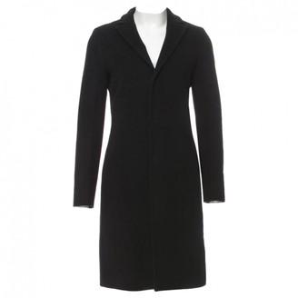 Jil Sander Black Cashmere Coat for Women
