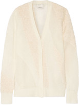 3.1 Phillip Lim Paneled knitted cardigan