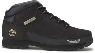 Timberland Men's Euro Sprint Leather Hiker Boots - Black - UK 7