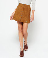 Superdry 70's Suede Skirt