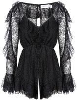 Alice McCall Mon Cheri Playsuit Black