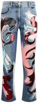 Versace Donna Sequin Embellished Jeans