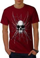Spider Web Skeleton Skull Devil Art Men XXXL T-shirt   Wellcoda