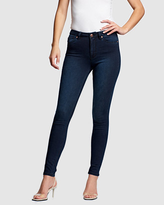 RES Denim Women's Navy Skinny - Kitty Skinny Jeans - Size One Size, 24 at The Iconic