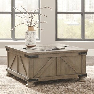 Laurel Foundry Modern Farmhouse Emiliano Lift Top Coffee Table with Storage