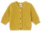 Petit Bateau Baby girls wool and nylon cardigan