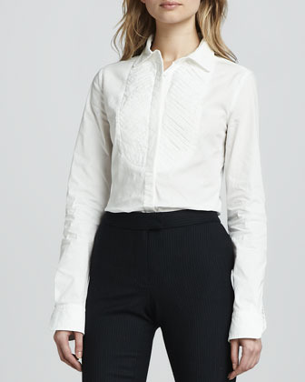 Rachel Zoe Beatrice Long-Sleeve Blouse