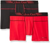 "Calvin Klein Men's 2-Pack Intense Active Fx Micro 6"" Boxer Brief"