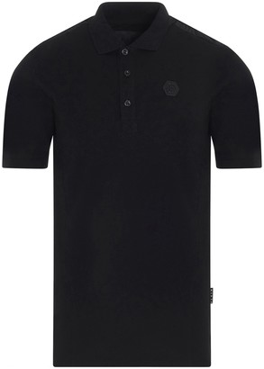 Philipp Plein Logo Patch Polo Shirt