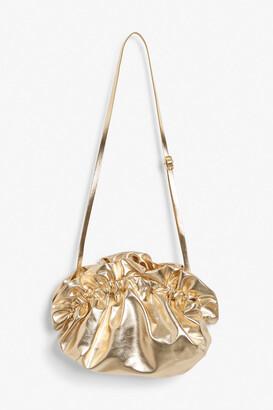 Monki Paper bag clutch
