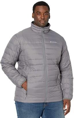 Columbia Big Tall Voodoo Falls 590 TurboDown Jacket (City Grey) Men's Coat