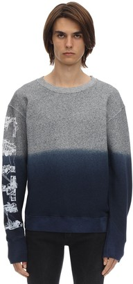 Faith Connexion Printed Cotton Jersey Sweatshirt Hoodie
