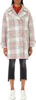 Closed Checked wool-blend coat