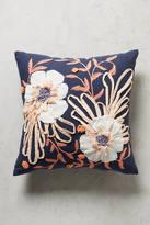 Anthropologie Embroidered Samia Pillow