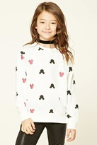 Forever 21 FOREVER 21+ Girls Mickey Sweatshirt (Kids)