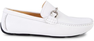Saks Fifth Avenue Leather Driving Loafers